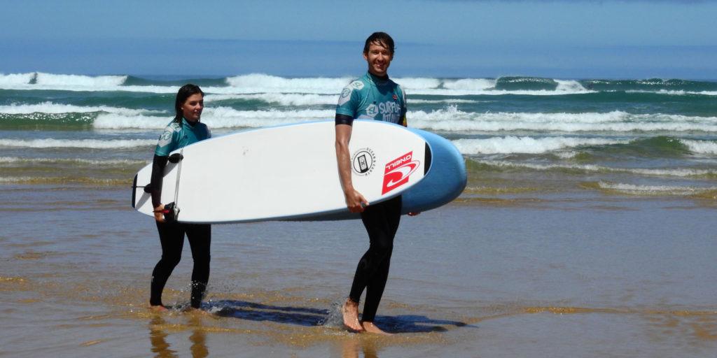 Obóz surfingowy Grom Surf Camp - nauka