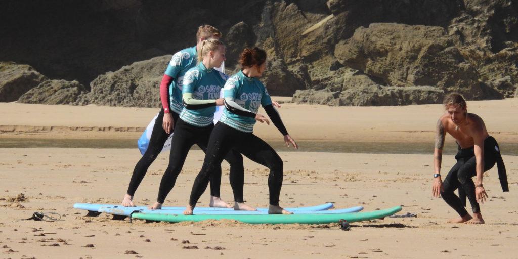 Obóz surfingowy Grom Surf Camp - nauka1